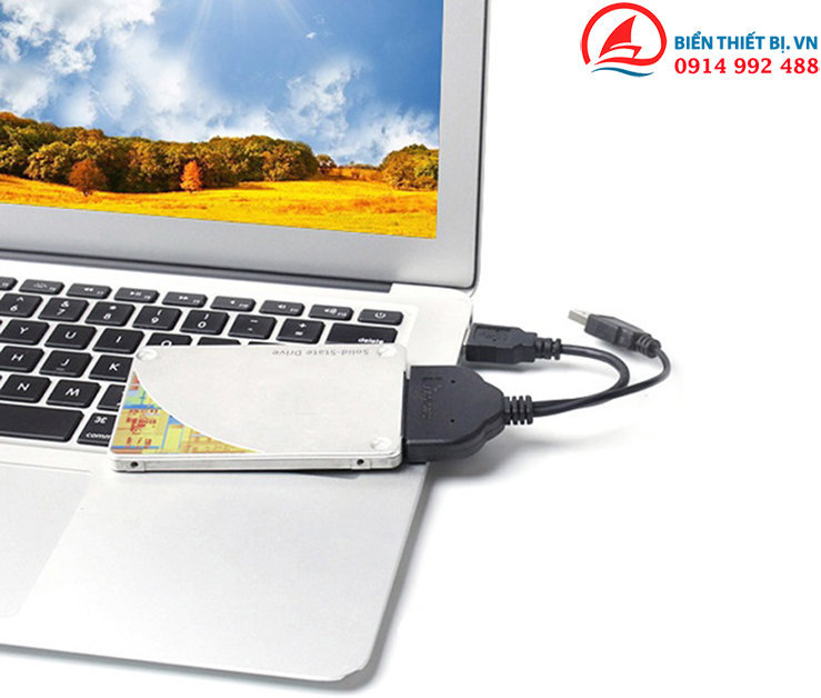 Cáp kết nối ổ cúng HDD, SSD SATA cho máy tính PC, Laptop, Macbook,