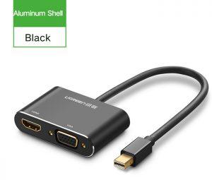 Cáp chuyển đổi Thunderbolt to HDMI VGA Ugreen 20422