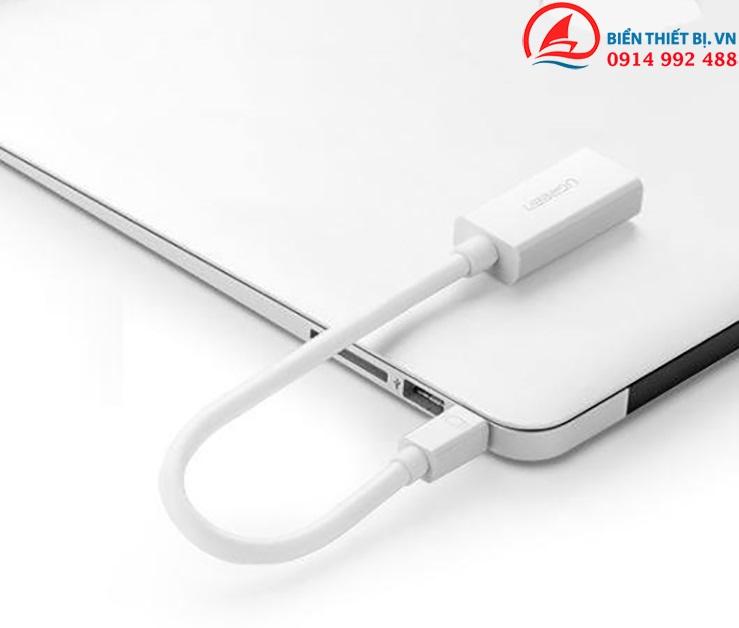 Cáp Thunderbolt to HDMI Female Ugreen 10460 màu trắng