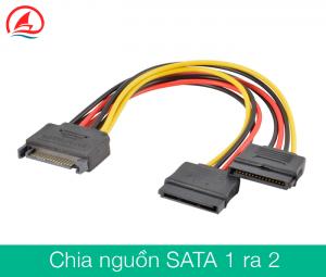 Cáp chia nguồn SATA 1 ra 2 cho ổ cứng HDD SSD