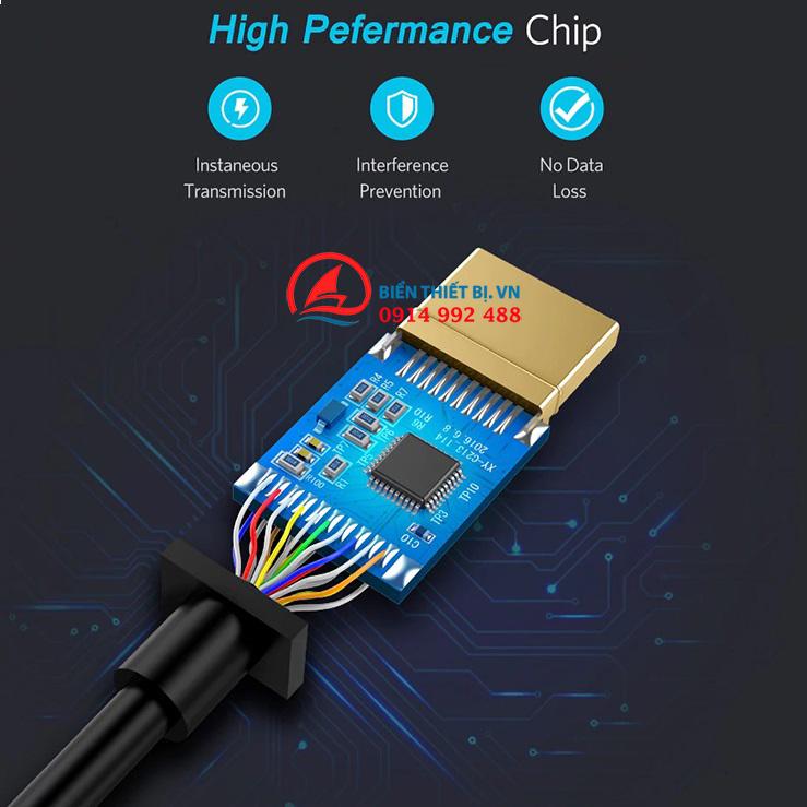 Cáp Thunderbolt to HDMI Female Ugreen 10461 màu đen