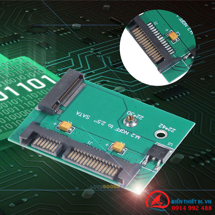 AdapterM2 SATA 2242 to SATA III