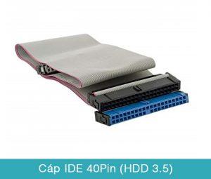 Cáp ATA IDE 40pin chuyền dữ liệu ổ cứng HDD3.5 DVD CD-ROM