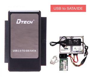 Cáp chuyển đổi USB sang SATA IDE cho HDD SSD DVD