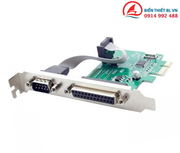 Card PCI-E 1X to DB25, DB9 chipset WCH382
