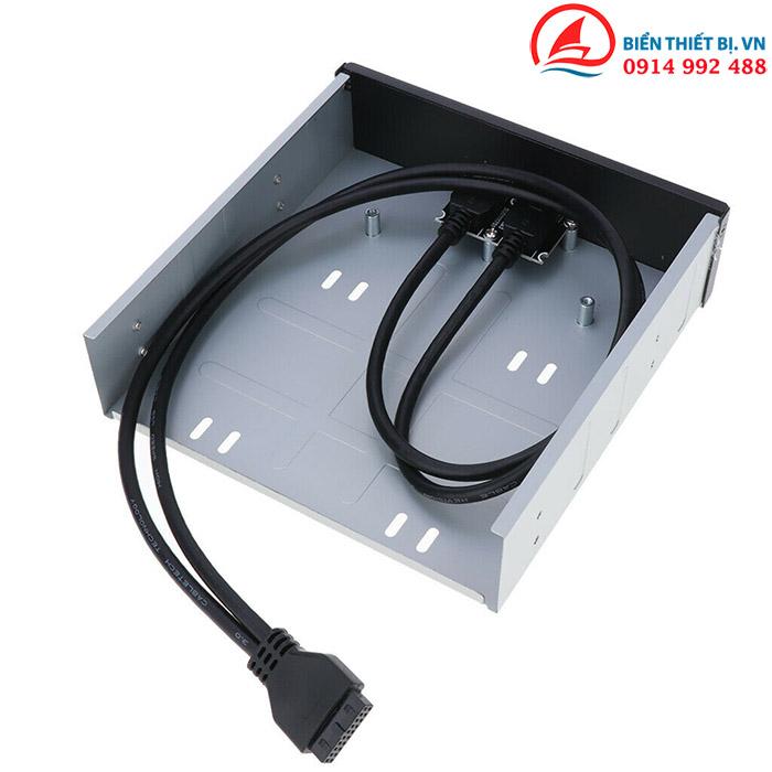 Cáp chuyển USB 3.0 20Pin Mainboard ra 2 USB 3.0 gắn khay Front