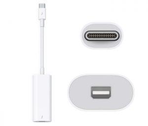 Cáp Apple Thunderbolt 3 (USB-C) to Thunderbolt 2