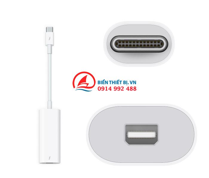 Cáp Apple Thunderbolt 3 (USB-C) to Thunderbolt 2 chính hãng