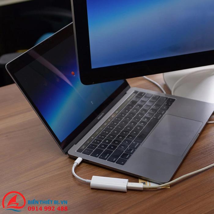 Adapter USB Type-C to Thunderbolt 2 chính hãng