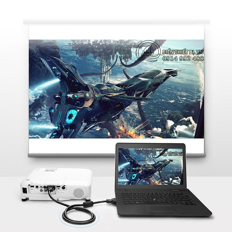 Cáp DVI Ugreen 11607 - Hỗ trợ Video 2K Full HD