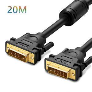 Cáp DVI-D Dual Link 24+1 dài 20m Ugreen 11602