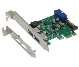 Card PCI-E to 2 USB 3.0 và 2 cổng 20pin