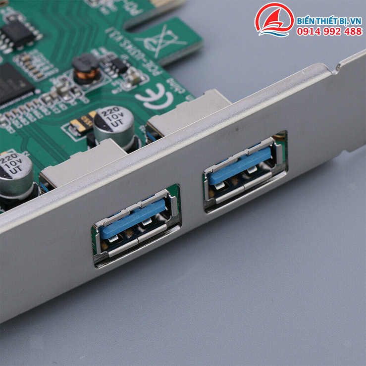 Card chuyển đổi PCI-E mở rộng thêm cổng kết nối cho máy tính PC