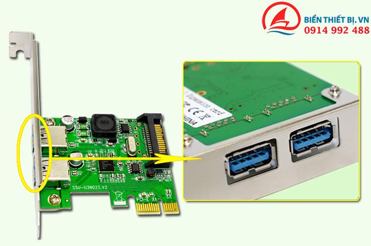 Biển thiết bị bán Card PCI-E chính hãng SSU