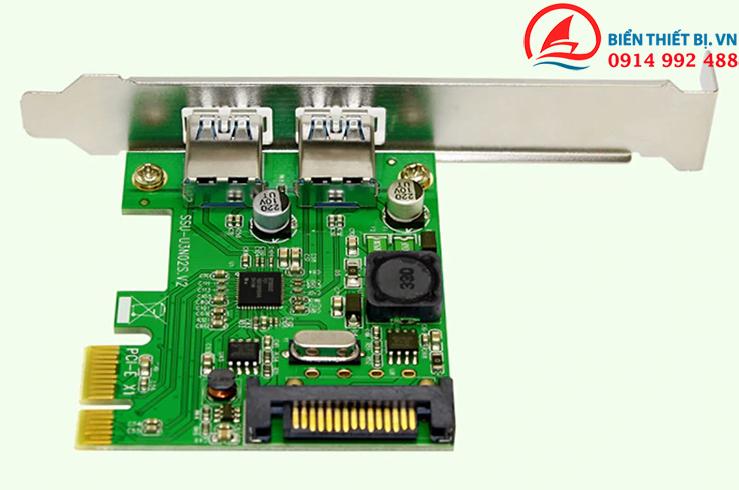 Card chuyển đổi USB 3.0 PCI-E ra 2 USB 3.0 Chipset NEC720202