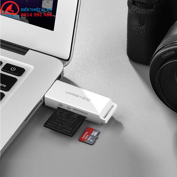 USB kết nối thẻ cho máy tính PC, Laptop, Macbook - Chip xử lý GL3223