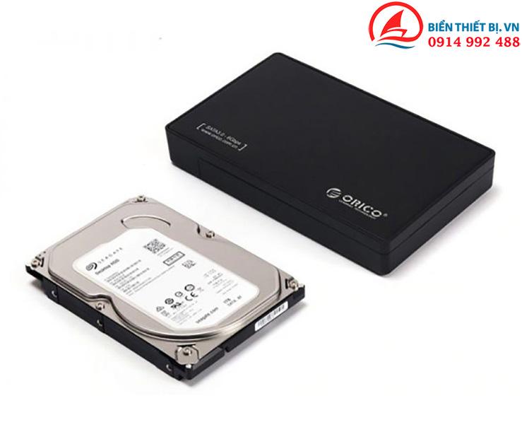 Hộp ổ cứng Orico 3588US3 hỗ trợ HDD SSD 2.5 và 3.5 lên đến 8TB