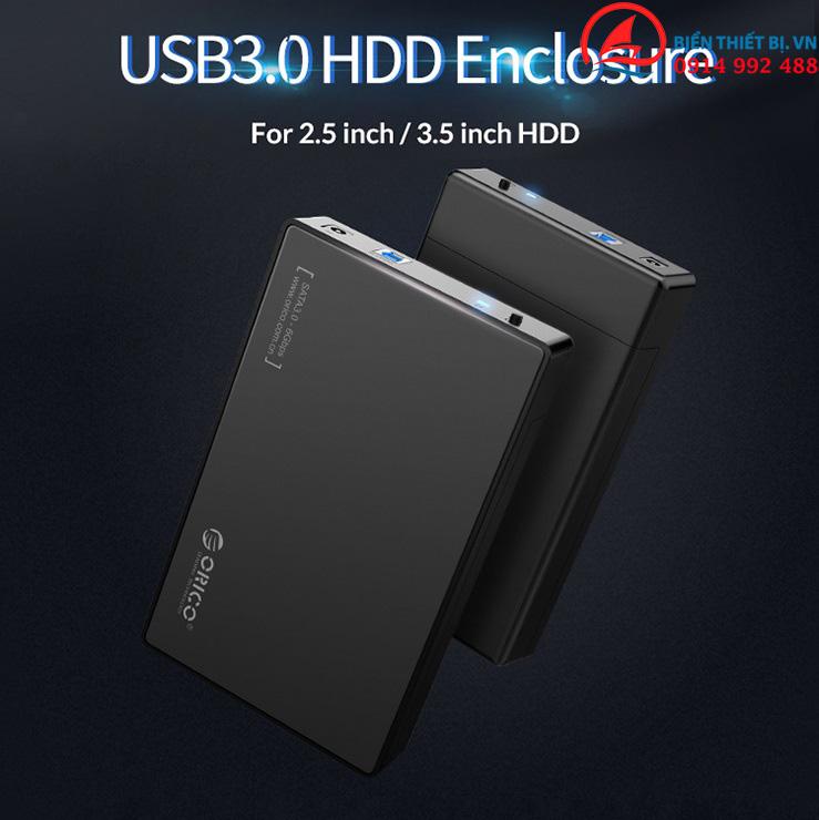 Ứng dụng Box Orico 3588US3 Hỗ trợ UASP