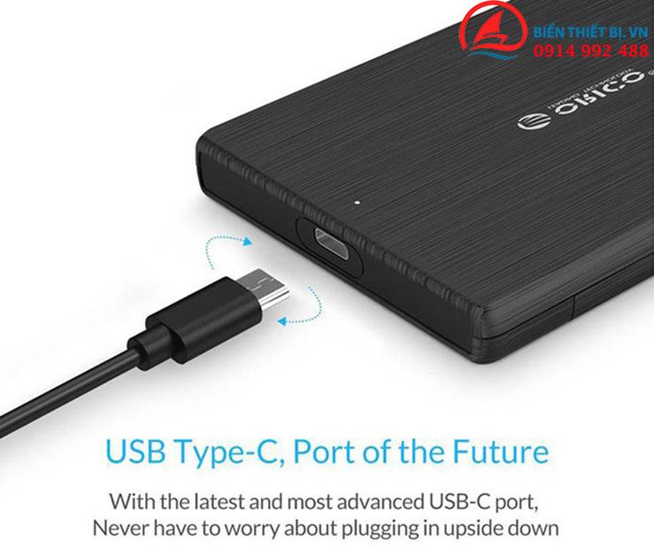 HDD SSD Box 2.5 Type-C USB 3.1 UASP SATA III 2TB - Orico 2189C3