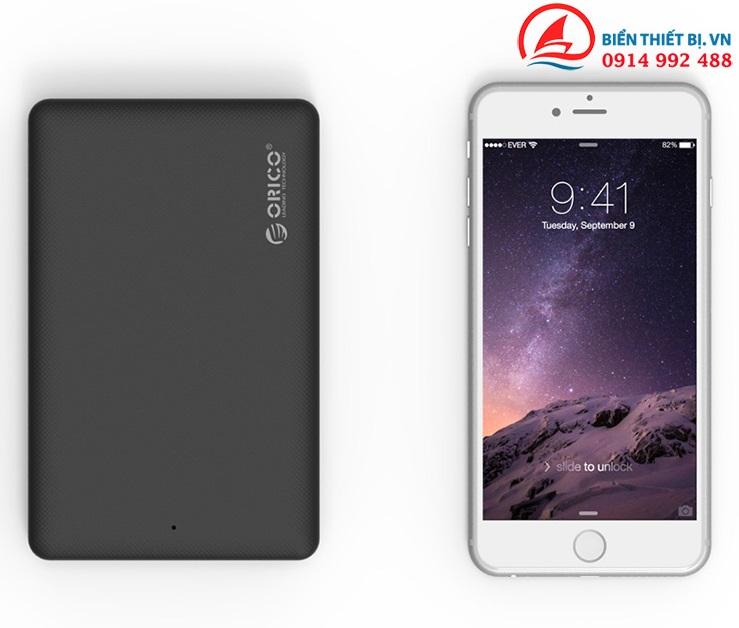 Hộp ổ cứng HDD SSD 2.5 SATA III sang USB 3.0 - ORICO 2577U3-BK