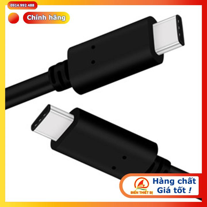 Cáp USB 3.1 Type C to Type C Gen-2 dài 1M 10Gbps Western Digital
