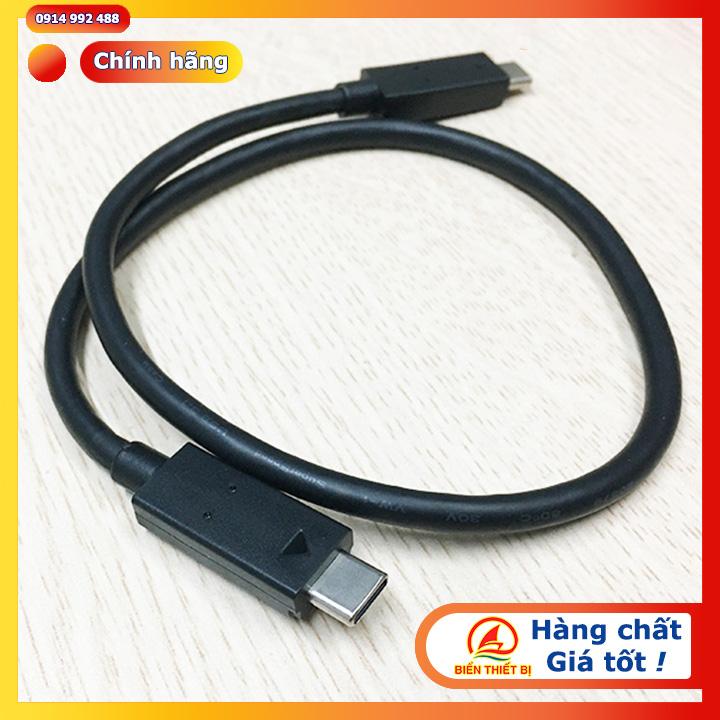 Cáp USB 3.1 Type-C To Type-C Gen 2 dài 45cm tốc độ 10Gbps