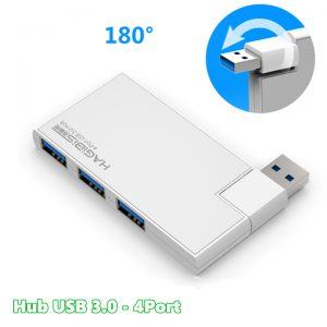 Hub chia USB 3.0-1 ra 4 vỏ nhôm – Bộ chia USB 3.0