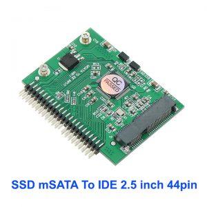Adapter chuyển đổi SSD mSATA sang 2.5 inch IDE 44pin