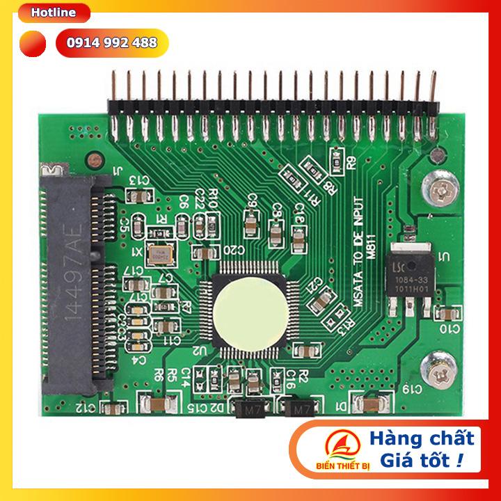 Adapter chuyển đổi SSD mSATA sang 2.5 inch IDE 44pin - chip JM20330