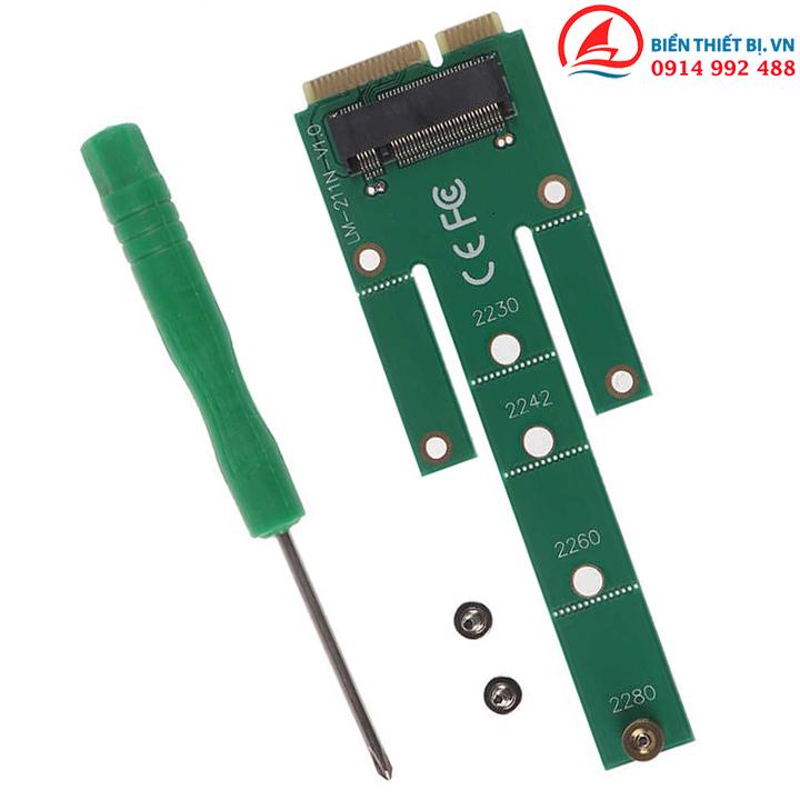 Bộ chuyển SSD giao diện NGFF sang SSD giao diện XA1 thông thường