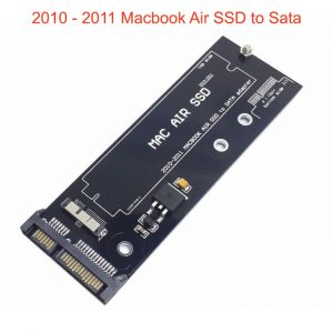 Adapter Card chuyển SSD Macbook Air 2010 2011 sang SATA hoặc USB