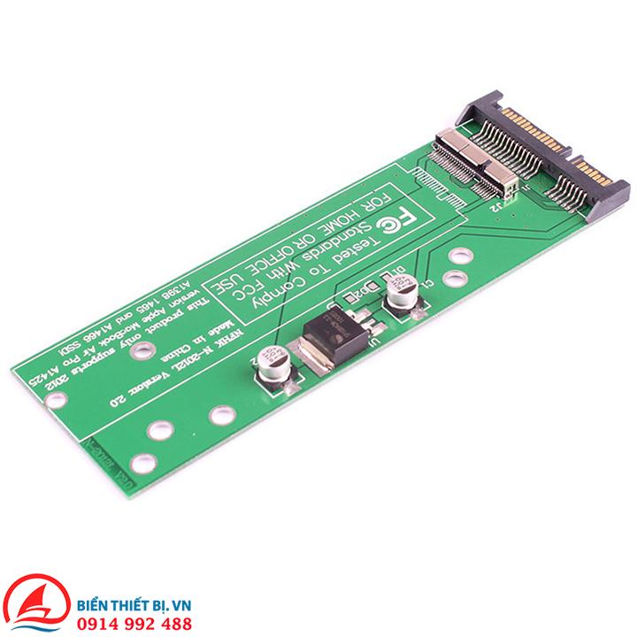 Adapter chuyển SSD Macbook Air 2012 Retina sang SATA hoặc USB