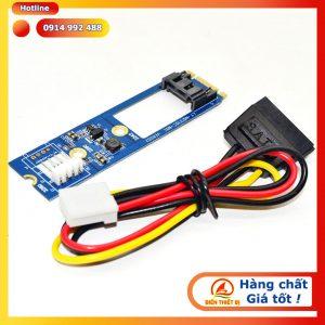 Adapter M.2 B key sang SATA 7Pin cho ổ cứng HDD SSD chuẩn SATA 3
