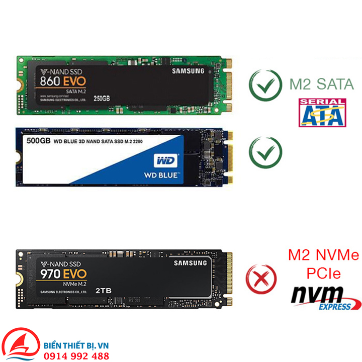 Card M.2 NGFF B-key SSD 2280 cho Macbook