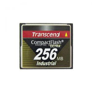 Thẻ nhớ CF 256MB Transcend CompactFlash Industrial cho máy CNC