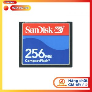 Thẻ nhớ Sandisk CompactFlash 256MB CF memory Card cho máy CNC
