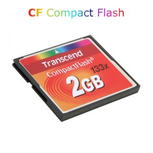 Thẻ nhớ Transcend CF 2GB CompactFlash 133X