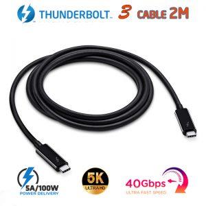 Cáp Thunderbolt 3 LG dài 2m tốc độ 40Gbps hình ảnh 5K 4K@60Hz sạc 5A/100W