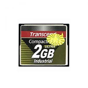 Thẻ nhớ CF 2GB Transcend industrial CompactFlash cho máy CNC - thiết bị PLC