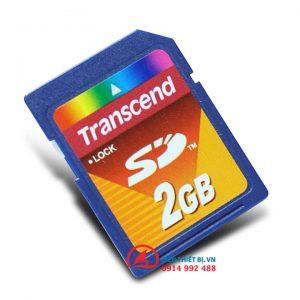 Thẻ nhớ SD 2Gb Transcend